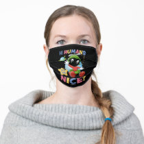 Baby Marvin the Martian| Hi Humans Adult Cloth Face Mask