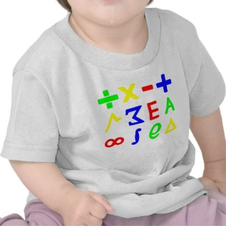 Baby Math Shirts