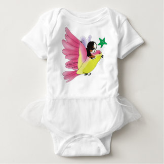 'baby max' Let Your Imagination Fly Baby Tutu Baby Bodysuit