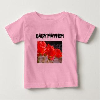Baby Mayhem Toddler Infant Tees Funny Humor