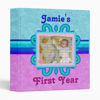 Baby Memory Two-Toned Photo Binder