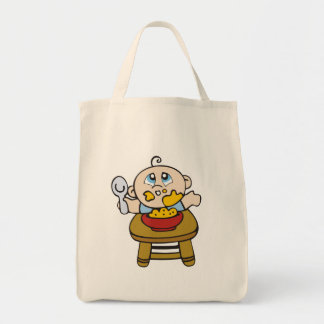 Baby Messy Eater Tshirts and Gifts Tote Bag