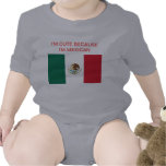 Baby Mexican Pride Rompers