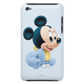 Baby Mickey | Blue Pajamas Barely There iPod Case