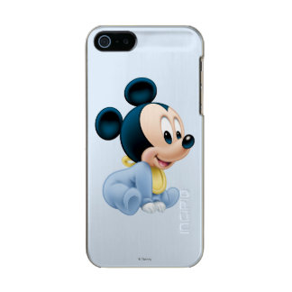 Baby Mickey | Blue Pajamas Metallic iPhone SE/5/5s Case