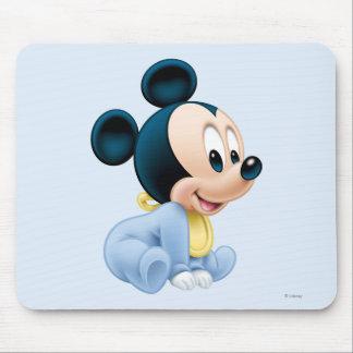 Baby Mickey | Blue Pajamas Mouse Pad