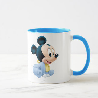 Baby Mickey | Blue Pajamas Mug