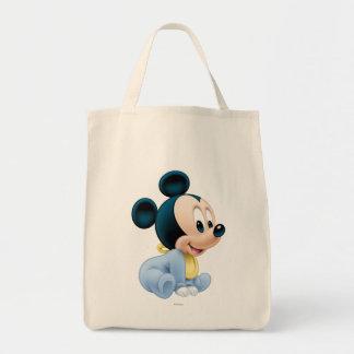 Baby Mickey   Blue Pajamas Tote Bag