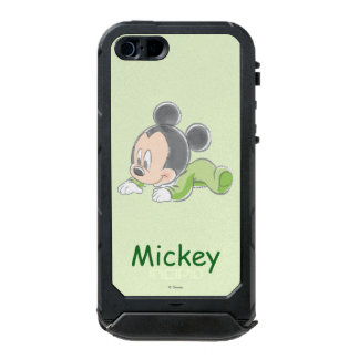 Baby Mickey | Green Pajamas Waterproof Case For iPhone SE/5/5s
