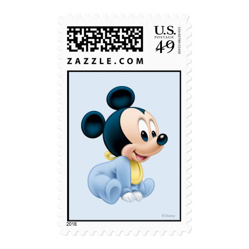 Baby Mickey Mouse 2 Stamps