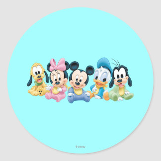Baby Mickey Mouse and friends Sticker