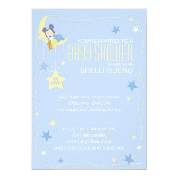 disney Baby Mickey Mouse Baby Shower Card