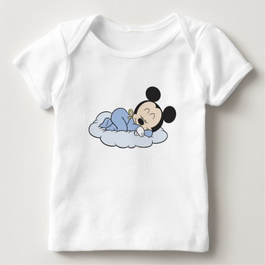 Baby Mickey Sleeping Baby T-Shirt