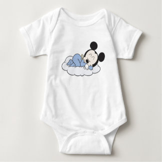 Baby Mickey Sleeping T-shirt