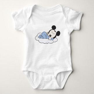 Baby Mickey Sleeping Tee Shirts