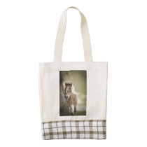 Baby Miniature Filly Zazzle HEART Tote Bag
