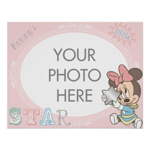 Baby Minnie Customizable Poster