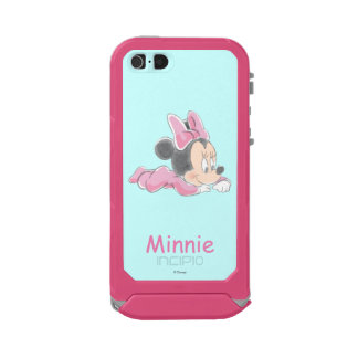 Baby Minnie Mouse | Pink Pajamas Waterproof iPhone SE/5/5s Case