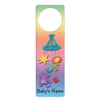 Baby Mobile Door Hanger