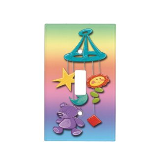 Baby Mobile Light Switch Covers