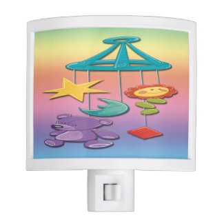 Baby Mobile Night Light