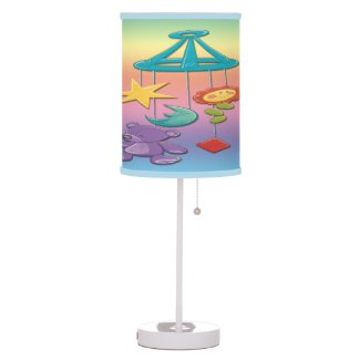 Baby Mobile Table Lamp