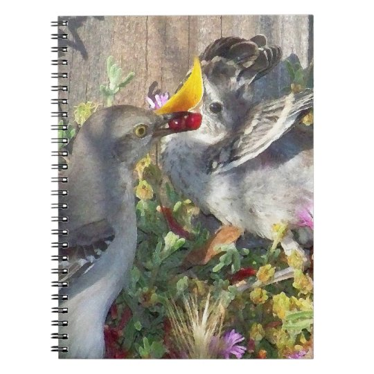 Baby Mockingbird Notebook