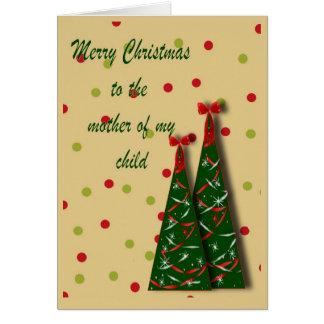 Baby Momma Christmas Card