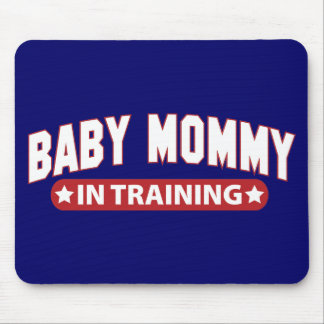 Baby Mommy In Training Mouse Pad