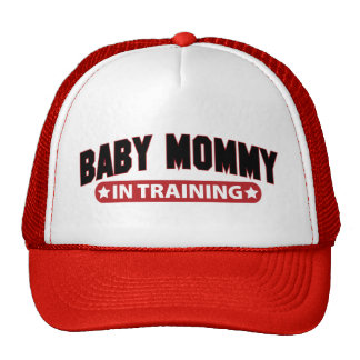Baby Mommy In Training Trucker Hat