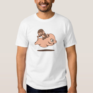 Baby Monkey (Going Backwards on a Pig) Tshirt