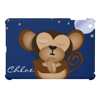 Baby Monkey Praying at Night IPAD CASE - Personali