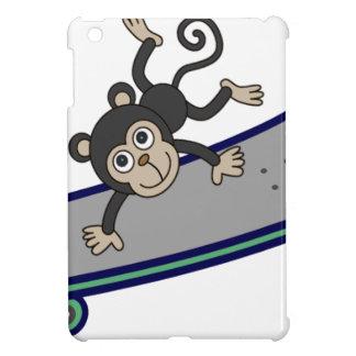 baby Monkey riding skateboards iPad Mini Cases