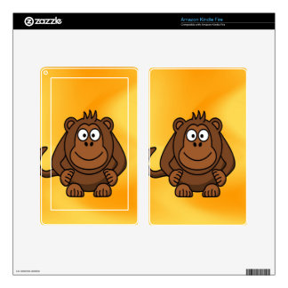 Baby Monkey waiting for mom love Decals For Kindle Fire
