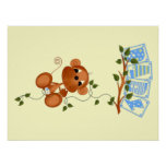Baby Monkey Wall Decor Posters