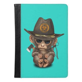 Baby Monkey Zombie Hunter iPad Air Case