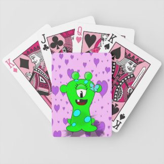 Baby  Monster Bicycle Playing Cards