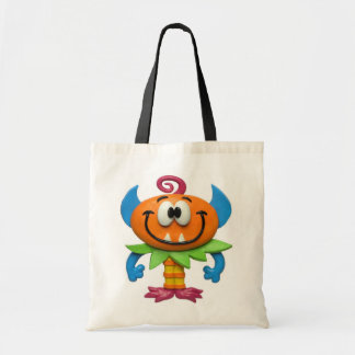 Baby Monster Budget Tote Bag