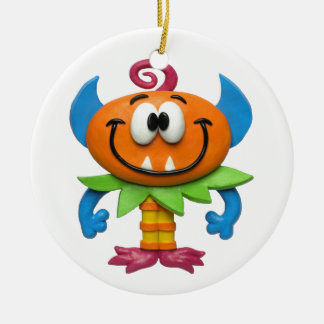Baby Monster Ceramic Ornament