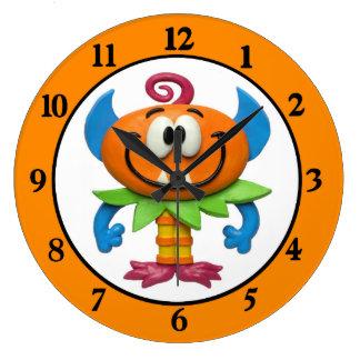 Baby Monster Wall Clocks