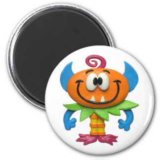 Baby Monster 2 Inch Round Magnet