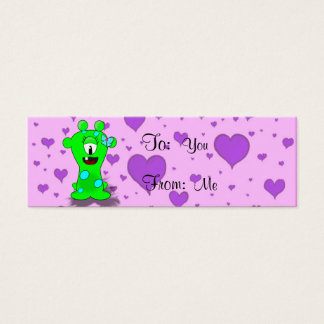 Baby Monster Mini Business Card