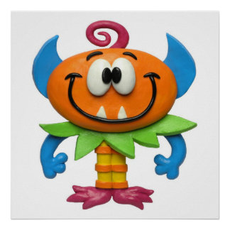 Baby Monster Print