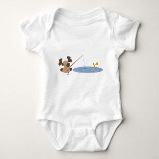 Baby Moose Fishing T-shirt