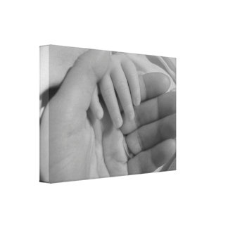 Baby & Mother Hand Print