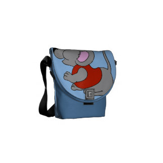 Baby Mouse Courier Bag