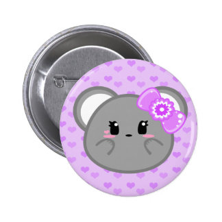 Baby Mouse - Girl Button