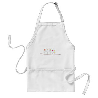 Baby Mouse Kiss Adult Apron