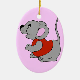 Baby Mouse Christmas Tree Ornament