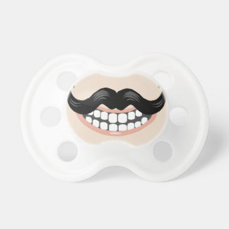 Baby Moustache Pacifier